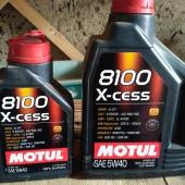 Отдам 1.5 литра Motul X-cess 8100 5w40
