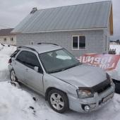 Разбор Subaru Impreza GG9 2003 левый руль